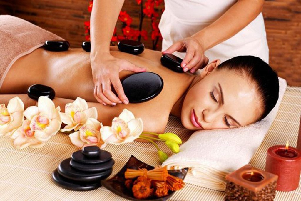 đá massage spa