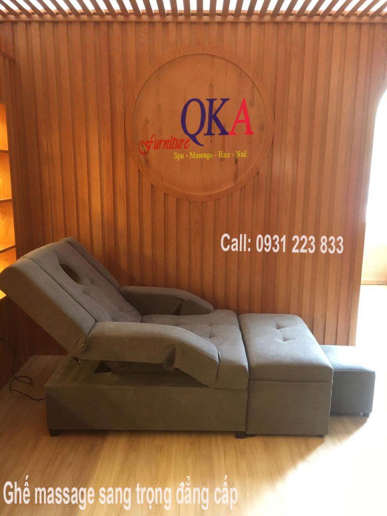 Địa điêm cung cấp ghế massage chân nhiều loại.