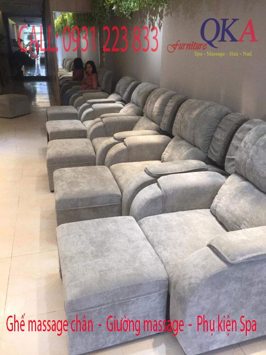 Ghế matxa chân giá rẻ