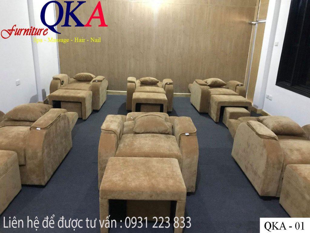 ghế matxa foot dùng cho trung tâm Spa