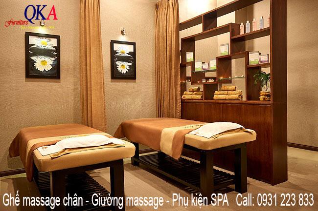 Cung cấp giường massage cho Spa