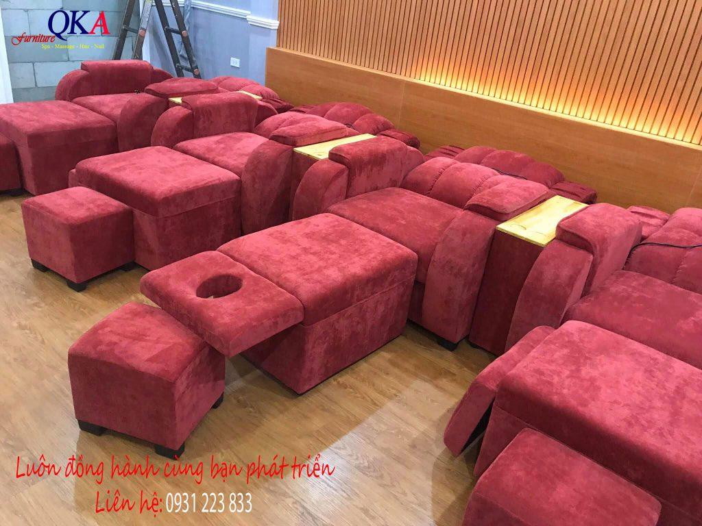 mẫu ghế massage chân tại Bắc Ninh đẹp