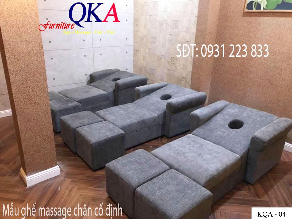 ghế massage chân tại Bắc Ninh