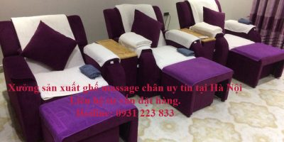 chuyên sản xuất, cung cấp ghế massage chân tại Đà Nẵng