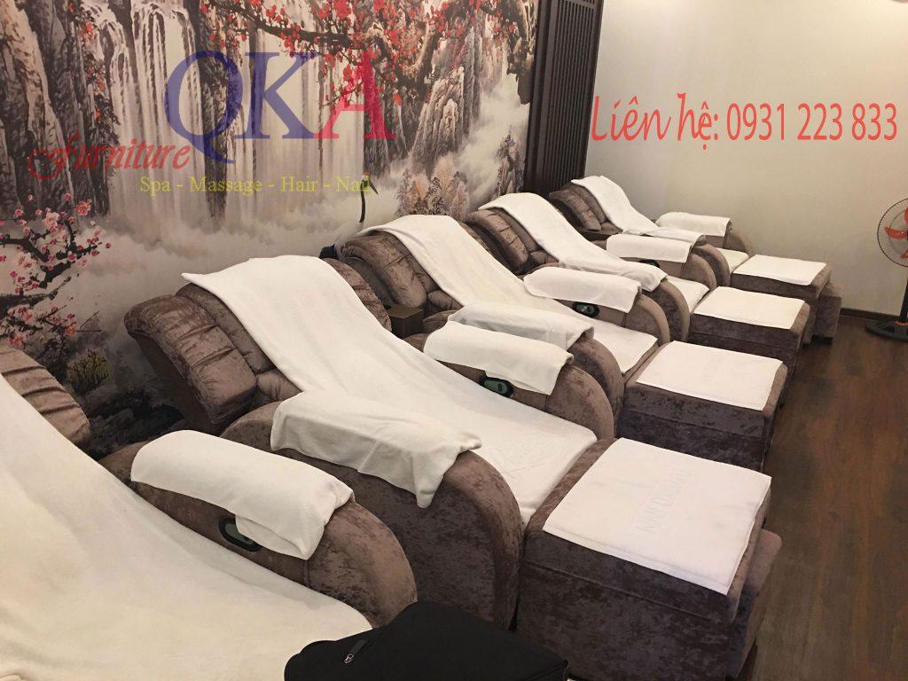 Mẫu ghế foot massage cho Spa